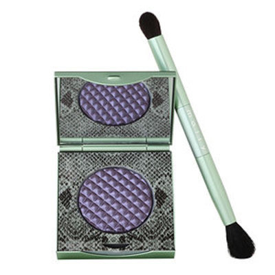 Mally Beauty Effortless Airbrush Eyeshadow with Brush, Sugarplum, .09 oz.