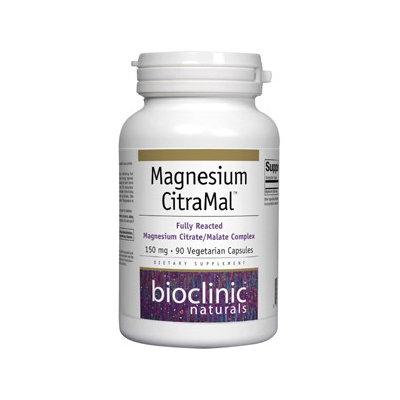 Bioclinic Naturals - Magnesium CitraMal 150 mg. - 90 Vegetarian Capsules