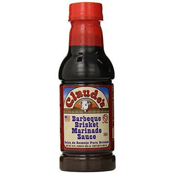 Claude's BBQ Brisket Marinade Sauce, 16-Ounce (Pack of 6)