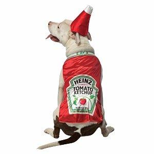 Rasta Imposta Costumes Heinz Ketchup Pet Costume
