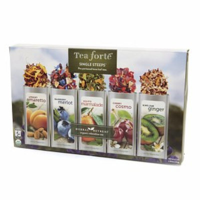 Tea Forte Single Steeps Pre-Portioned Loose Leaf Teas