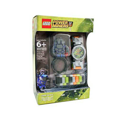 Clicktime Power Miners Lego Watch