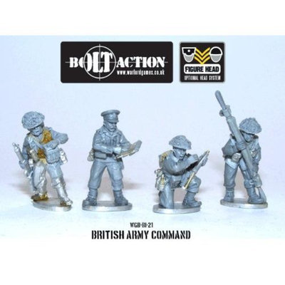 28mm Bolt Action (British) - British Command (4)