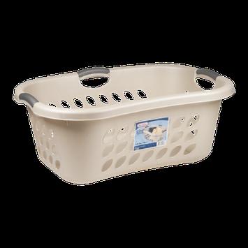 Sterilite Ultra HipHold Laundry Basket Seashell - 1.25 Bushel