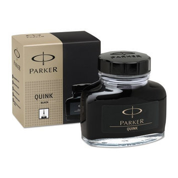 Parker Quink Bottled Ink Permanent 57ml Bottle Black S0037460