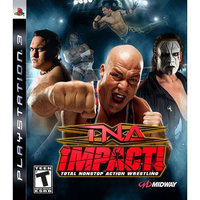 TNA Impact! Playstation3 Game MIDWAY