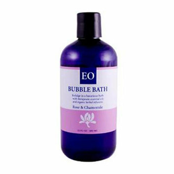 EO Products Bubble Bath Renew Rose and Chamomile 12 fl oz