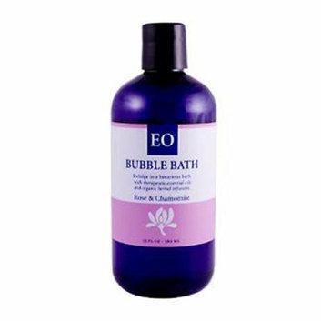 EO Products Bubble Bath Renew Rose and Chamomile 12 fl oz