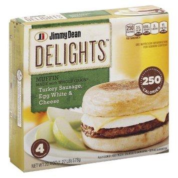 Jimmy Dean D-Lights Turkey Sausage Muffins 4 ct