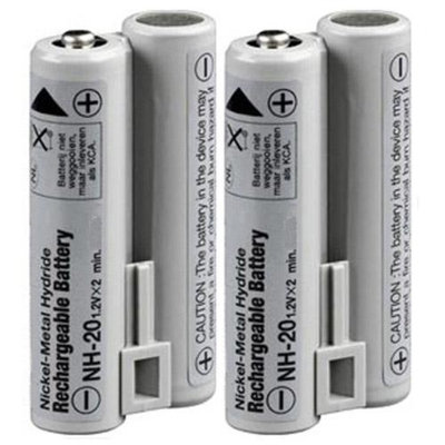Replacement Battery For Fuji NH20 (2 Pack)