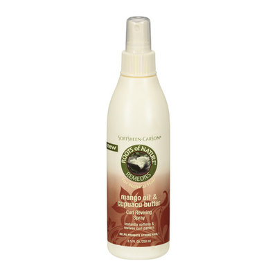 SoftSheen-Carson Roots Of Nature Mango Oil & Cupuacu Butter Curl Reviving Spray