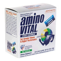 Ajinomoto Amino Vital Fast Charge Advanced Amino Acid Sports Supplement, 0.18 Ounce Packets (Pack of 30)