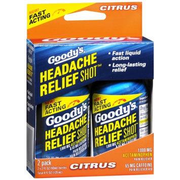 Goody's Headache Relief Shot, Citrus, 2 ea