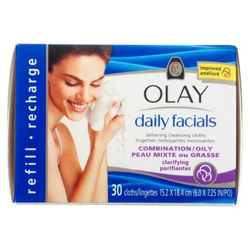 Olay Daily Facials Deep Cleansing Cloths Oily/Combination