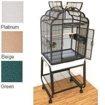HQ's Opening Victorian Cage, Small Parrot Cage With Cart Stand, 1 Per Box, 22x17x55