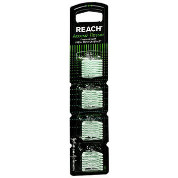 Reach Access Disposable Flosser Heads Clean Mint