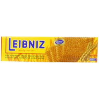Bahlsen Leibniz Whole Wheat Butter Biscuits, 7-Ounce Boxes (Pack of 18)