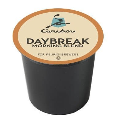 New Brand Caribou Coffee Daybreak Morning Blend 96 K-cups