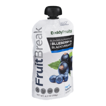 Buddy Fruits FruitBreak Blended Superfruit with Blueberry & Blackcurrant
