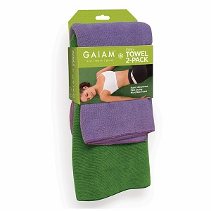 Gaiam Yoga Thirsty Yoga Towel