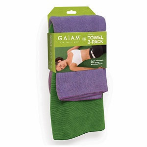 Gaiam Yoga Thirsty Yoga Towel