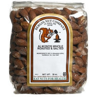 Bergin Fruit and Nut Company, Almonds Whole Roasted & Salted, 16 oz