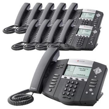 Polycom 2200-12550-001-10 SoundPoint IP 550 4-Line IP Phone w/ AC