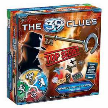 University Games The 39 Clues Search for the Keys Board Game Ages 8 and up, 1 ea