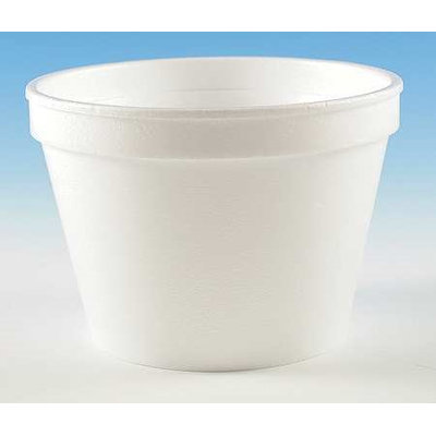 WINCUP FH16 Container, Disposable, White, 16 Oz, PK 500
