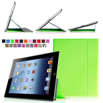 Fintie Smart Book Cover Case Supports Three Viewing Angles for Apple iPad 2, iPad 3 & iPad with Retina Display, Green