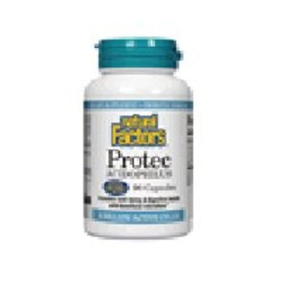 Natural Factors Protec Acidophilus Enteric Coated Capsules, 60-Count