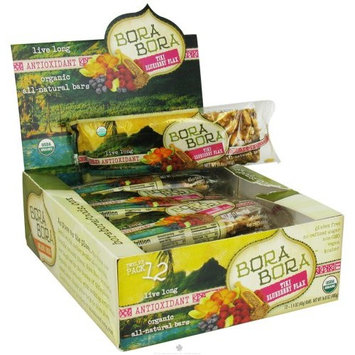 Bora Bora Organic Foods - All Natural Antioxidant Bar Tiki Blueberry Flax - 1.4 oz.