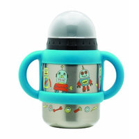 Sugarbooger Flip and Sip Container, Retro Robot