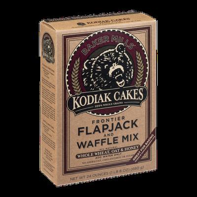 Baker Mills Kodiak Cakes Frontier Flapjack and Waffle Mix Whole Wheat, Oat & Honey