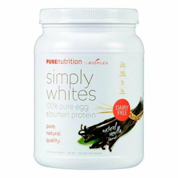 Pure Nutrition Simply White Powder Natural Vanilla 16 oz