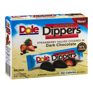 Dole Dippers Strawberry - 6 CT