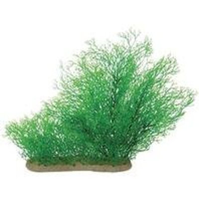 Pure Aquatic Natural Elements Java Moss Aquarium Ornament in Green
