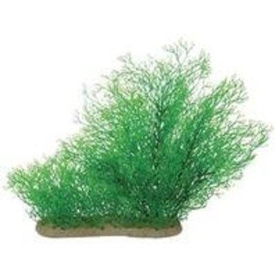 Pure Aquatic Natural Elements Java Moss Aquarium Ornament in Green