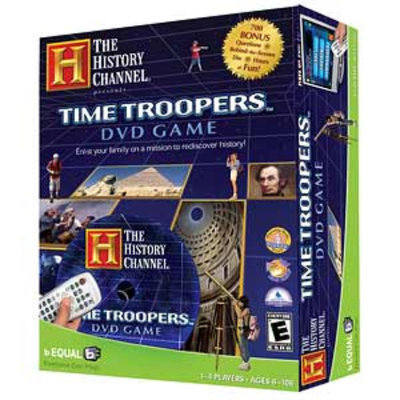 The History Channel Time Troopers DVD Game Ages 6+