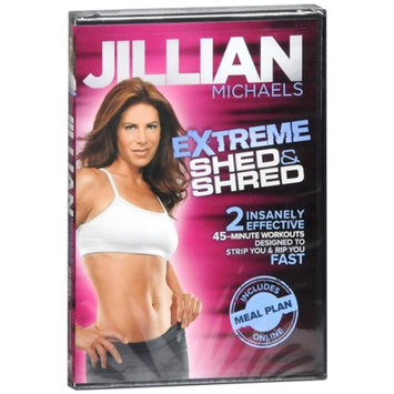 Empowered Media Jillian Michaels Extreme Shed & Shred DVD, 1 ea