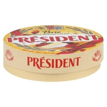 President Brie Cheese Wheel 8 oz