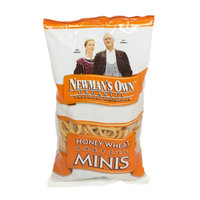 Newman's Own Organics Honey Wheat Pretzel Minis