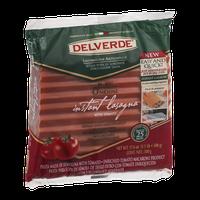 Delverde Instant Lasagna With Tomato