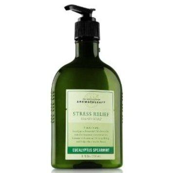 Bath & Body Works Aromatherapy Stress Relief Eucalyptus Spearmint Body Wash & Foam Bath
