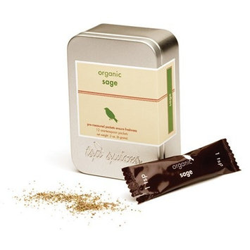 Tsp Spices Organic Sage, 12 One-teaspoon Packets, 2-Ounce Tins (Pack of 3)