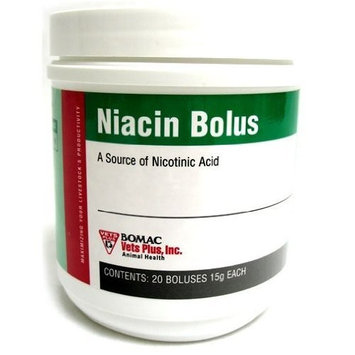 VETS PLUS INC D Vets Plus Niacin Bolus