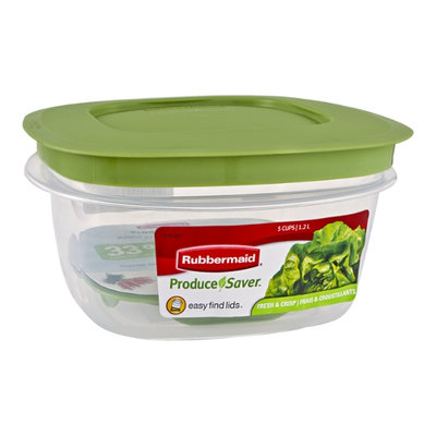 Rubbermaid Produce Saver Easy Find Lids - 5 Cups