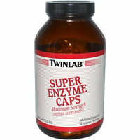 Twinlab Super Enzyme Caps 200 Capsules