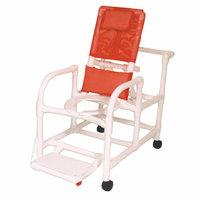 MJM International Echo Reclining Shower Chair with Footrest