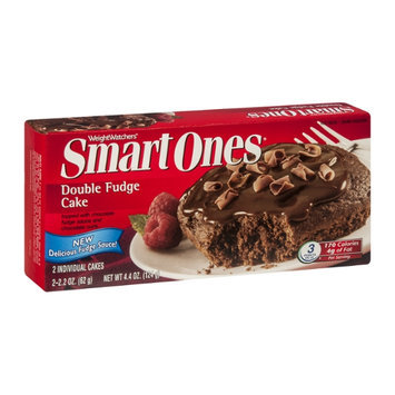 Weight Watchers Smart Ones Double Fudge Cake - 2 CT